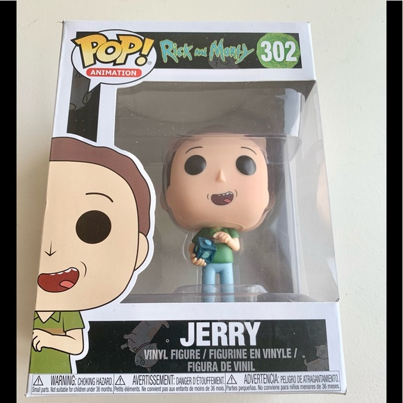Funko POP Animation Rick & Morty #302 JERRY